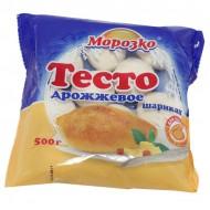 """Тесто """"Морозко"""" дрожжевое в шариках 500 гр"""