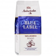 "Кофе ""Ambassador"" Blue Label в зернах 200гр"