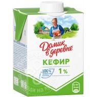 """Кефир """"Домик в Деревне"""" 1% 500 мл"""