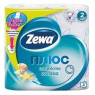 Туалетная бумага Zewa Cвежесть океана 4 шт