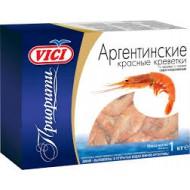 """Аргентинские креветки """"VICI"""" а панцире с головой 1 кг."""