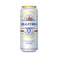 Пиво Балтика №0 светлое безалкогольное ж/б