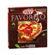 "Пицца ""Favorito""с салями ""VICI"" 415гр"
