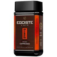 """Кофе """"EGOISTE"""" Espresso Double ст/б 100 гр."""