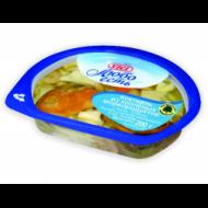 Коктейль Vici копченые морепродукты в масле 200гр