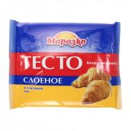 """Тесто """"Морозко"""" бездрожжевое замороженное 400 г"""