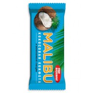 """Батончик """"Malibu"""" Кокосовый в шок. глазури 50 гр."""