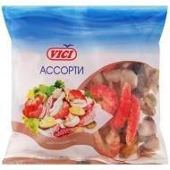Ассорти из морепродуктов Vici в/м из сурими 450 г