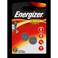 """Батарейки """"Energizer"""" 2016 lithium 3v 07/2026 2шт"""