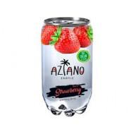Газированный напиток Aziano Клубника 350мл
