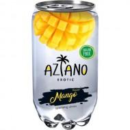 Газированный напиток Aziano Манго 350мл