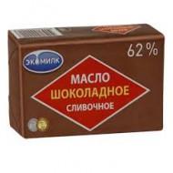 """Масло сливочное """"Экомилк"""" шоколадное 62% 180г"""