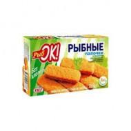 """Рыбные палочки """"Рыбок"""" 250 гр"""