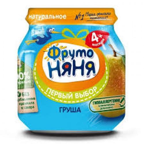 """Пюре """"ФрутоНяня"""" из груш 100 г"""