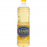 """Масло подсолнечное """"Злато"""" раф. 1л"""