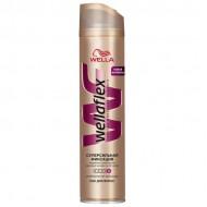 "Лак для волос ""WellaFlex"" без запаха Суперсильная Фиксация 250 мл"