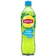 "Холодный чай ""Lipton"" Лайм и мята 0,5л"