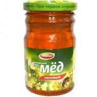 """Мед """"Абрико"""" липовый ст/б 270 гр."""