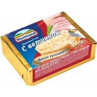 Плавленый сыр Hochland с ветчиной 35% 50г бзмж