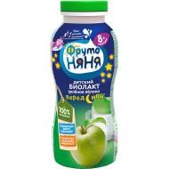Биолакт Фрутоняня Зеленое яблоко 2,9% 200мл бзмж