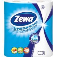 Полотенца бумажные Zewa белые 2-слойные 2шт