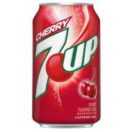 """Газированный напиток """"7Up"""" Cherry 0,35мл"""