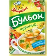 """""""Приправыч"""" Бульон куриный С овощами и зеленью 75гр"""