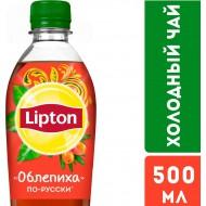 Холодный чай Lipton Облепиха 0,5л
