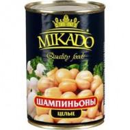 "Шампиньоны целые ""Mikado"" 400 гр"