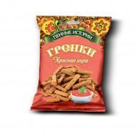 """Гренки """"Пенные истории"""" Красная икра 75 гр."""