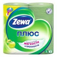 Туалетная бумага Zewa Плюс Яблоко 4 шт