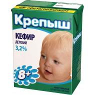 """Кефир """"Крепыш"""" 3,2% 200мл"""