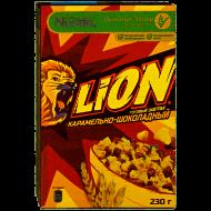 """Готовый завтрак """"LION"""" Карамельно-шоколадный 230 гр."""