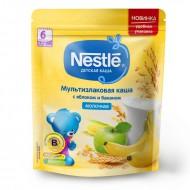 """Каша молочная """"NESTLE"""" Овсяная яблоко-банан 220 гр."""