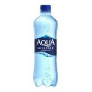 Вода Aqua Minerale газированная столовая 0,6 л