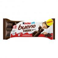 Батончик Kinder Bueno в тёмном шоколаде 43 гр.