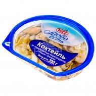 """Коктейль из морепродуктов """"VICI"""" в масле 200гр."""