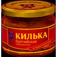 """Килька """"5 Морей"""" в томате балтийская ст/б 270г"""