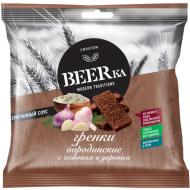 """Гренки """"Beerka"""" со вкусом чеснока с укропом и сметанным соусом 60г"""