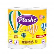 """Бумажные полотенца """"Plushe"""" Light 2 рул."""