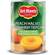 Персики Del Monte половинки в легком сиропе 420г