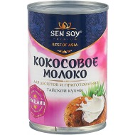 Кокосовое молоко Sen Soy 5-7% 400 мл