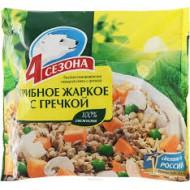 """Грибное жаркое """"4 Сезона"""" с гречкой 400гр."""