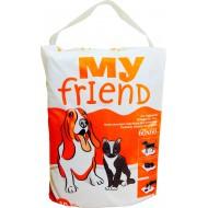 Пеленки для животных впитывающие MY FRIEND 60х60см по 10шт