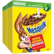 """Готовый завтрак """"Nesquik"""" 250гр+250гр."""