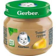 "Пюре ""Gerber"" груша 80гр"