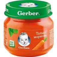 """Пюре """"Gerber"""" морковь 80 г"""