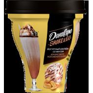 Коктейль йогуртный Даниссимо Shake&Go арахисовое мороженое и нуга 5,2% 260 г