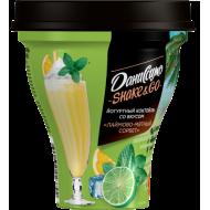 Коктейль йогуртный Даниссимо Shake&Go лаймово - мятный сорбет 5,2% 260 г
