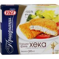 Рыбные порции Vici из филе хека в панировке замороженные